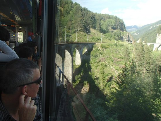 Bernina Express: Relax and unwind