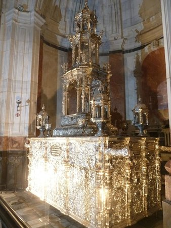 Cathedral of Cadiz: Altare da processione