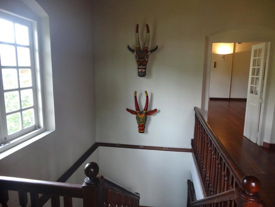 Tea Bungalow: Staircase