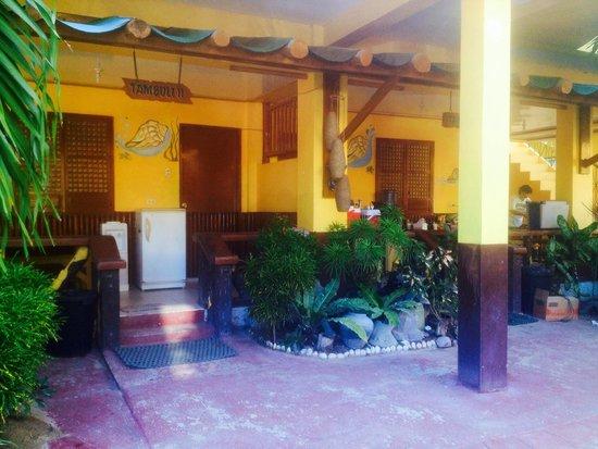 Sigayan Bay Beach Resort: tambuli