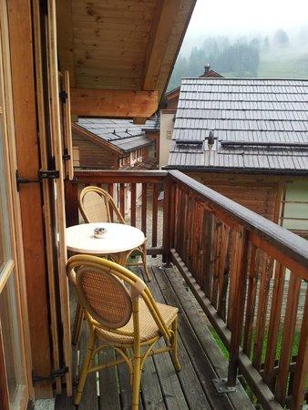 Club Med Pragelato Vialattea : Vue balcon