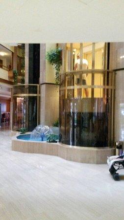 Hotel GHT Aquarium & SPA: Ascenseur panoramique