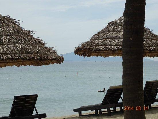 Dong An Beach Resort: プライベートビーチ