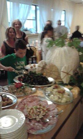 Hotel Stella d'Italia: Il buffet presente ad ogni pasto