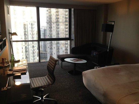 W Atlanta Midtown: Room layout