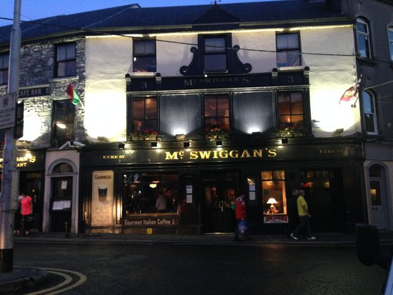 Park House Hotel: Le Mac Swiggans pub recommandé