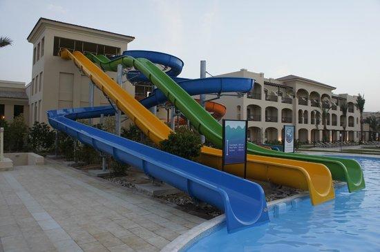 Jaz Aquamarine Resort : Горки