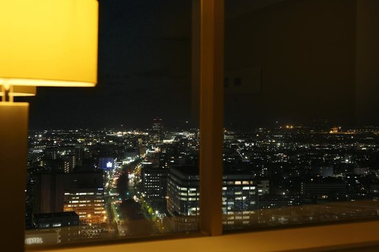 Hotel Nikko Kanazawa : Luxe deluxe twin bed 44 square meters night view