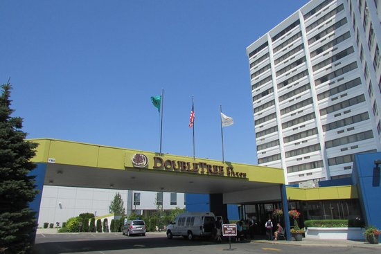 DoubleTree by Hilton Hotel Spokane City Center: esterno dell'hotel