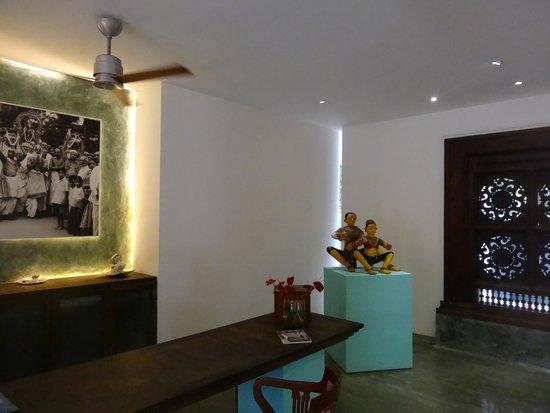 Purity at Lake Vembanad: Hotel reception