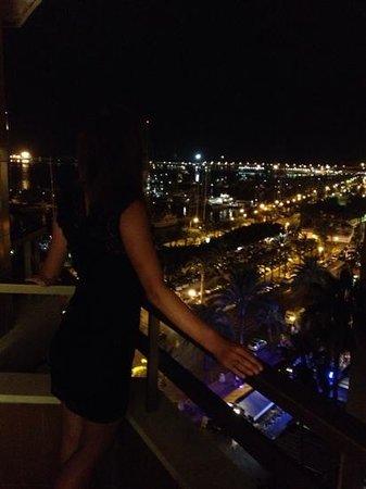 Meliá Palma Marina: the view