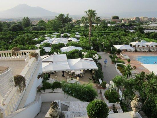 La Medusa Hotel & BoutiqueSpa: back garden