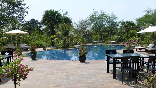 Battambang Resort: The magnificent pool