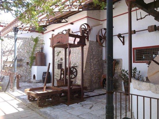 Hacienda Minerva: L'un des patios