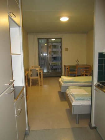Hostel Academica: вид со входа в номер
