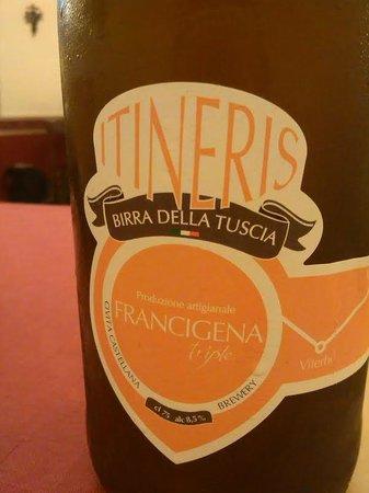 Osteria Numero Uno: birra artigianale itineris