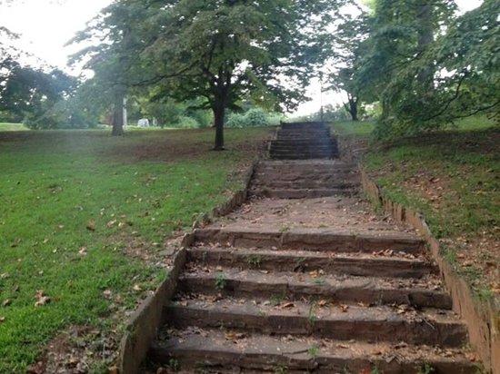 Parc Piedmont : Stairs
