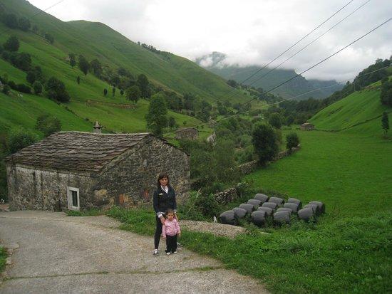Posada la Vieja Escuela: Valle del Pas desde el hotel