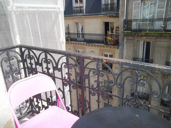Hôtel Odessa Montparnasse: balcon 1