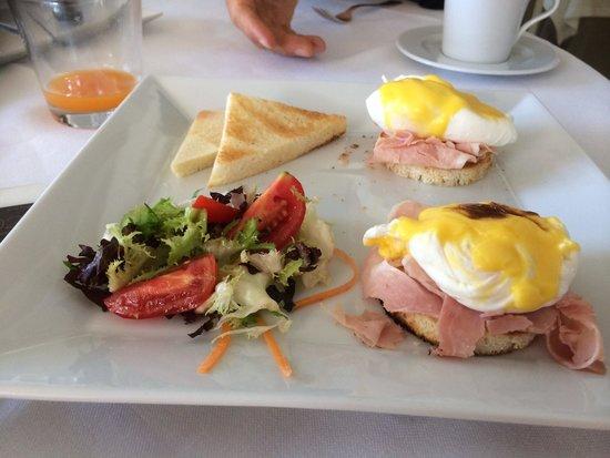 Capri Palace Hotel & Spa : Squisite uova alla benedict