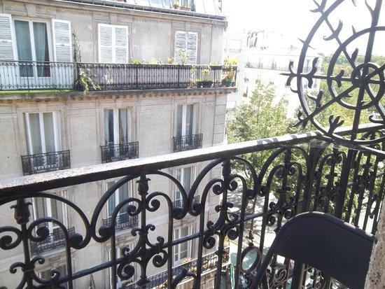 Hôtel Odessa Montparnasse: balcon 2