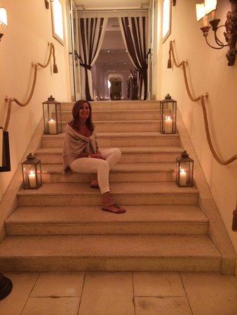 Capri Palace Hotel & Spa : Accesso All'olivo stellato