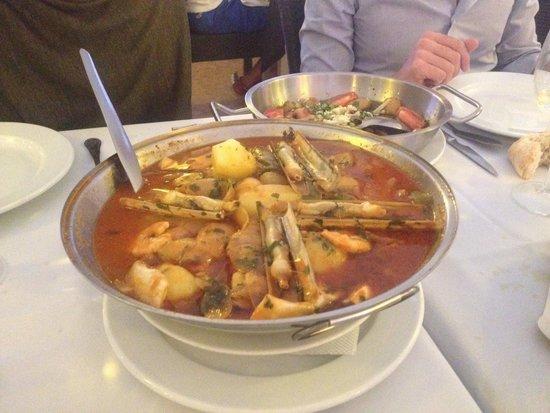 Restaurante Mar do Inferno : Cataplana de Peixe