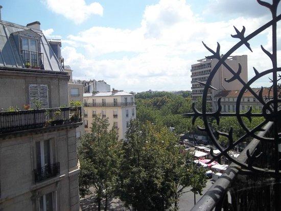 Hôtel Odessa Montparnasse: balcon 3