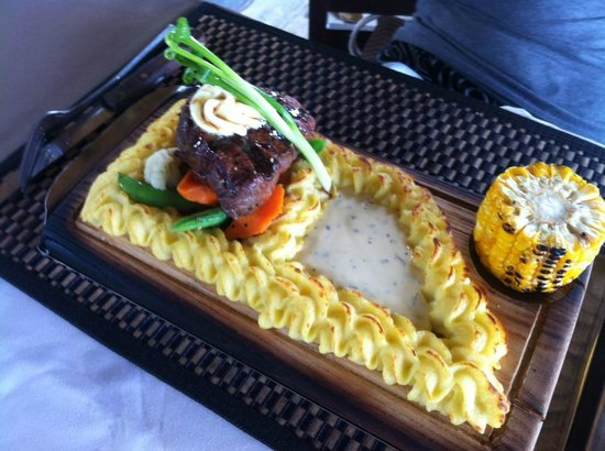 Mamma Mia Grill & Restaurant Rawai: Beautiful presentation!