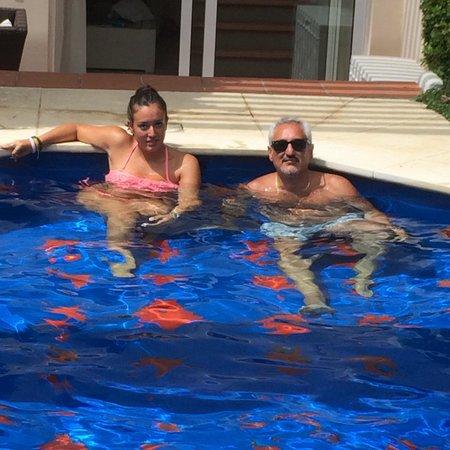 Capri Palace Hotel & Spa : La splendida piscina in camera