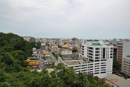 Hotel Sixty3: вид на отель и город со смотровой площадки