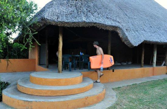 Praia de Peixe: our chalet