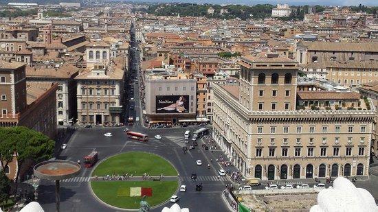 Roma dal Cielo   Terrazza delle Quadrighe: Vista spettacolare