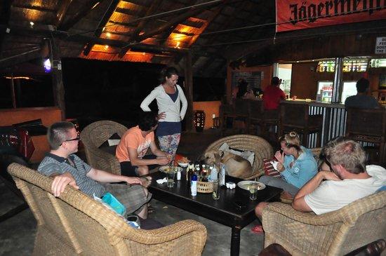 Praia de Peixe: drinks in the bar