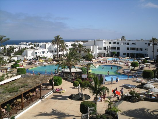 BlueBay Lanzarote: View from our room (AB305)
