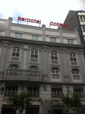 Sercotel Coliseo: Fachada