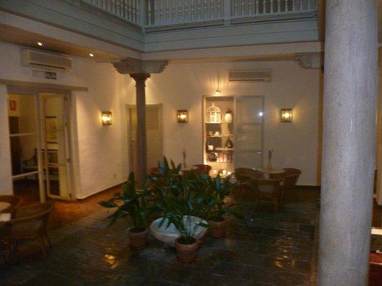 Hotel Palacio de Los Navas: L'accueil