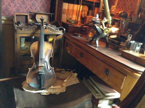 Sherlock Holmes Museum: studio di sherlock holmes