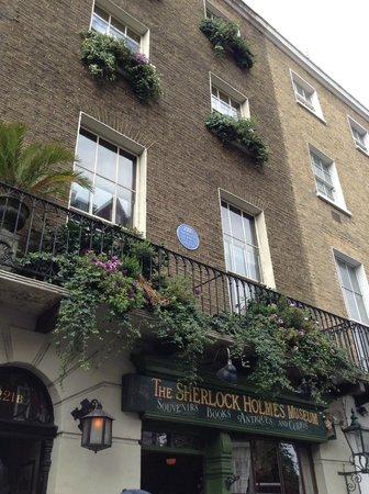 Sherlock Holmes Museum: entrata museo di sherlock holmes