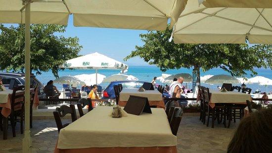 Captain's Restaurant: Вид на море