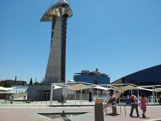 Parque de las Ciencias: View of the Tower