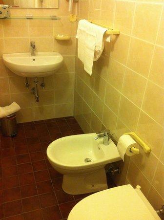 Hotel Lisa': Bagno