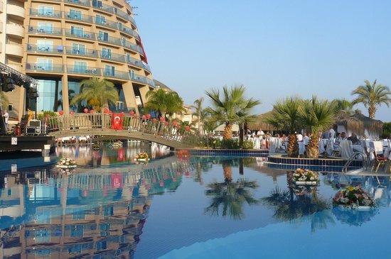 Long Beach Resort Hotel & Spa: Soirée turque