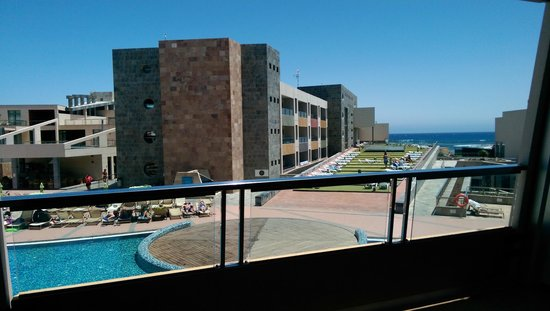 Geranios Suites & Spa Hotel: View from suite 268