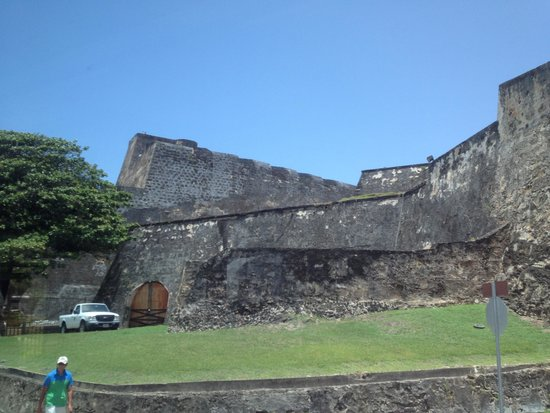 Castillo de San Cristobal: The old fort
