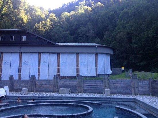 Les Thermes de Saint Gervais Mont Blanc : Exterior view