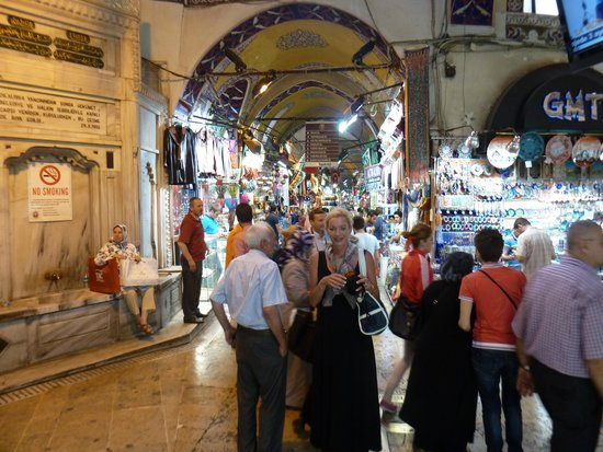 Historic Areas of Istanbul: Inside the Grand Bazaar