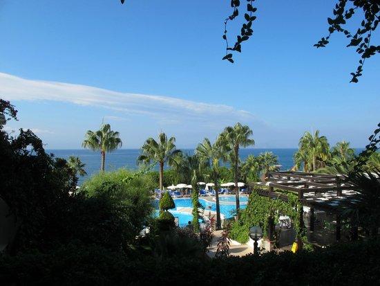 Fantasia Hotel De Luxe Kusadasi: view from bar truss