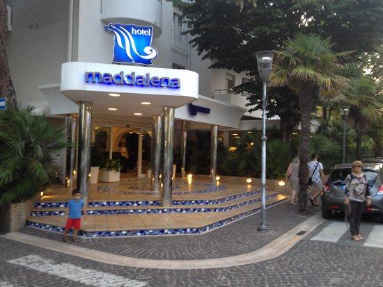 Hotel Maddalena : Ingresso dell hotel