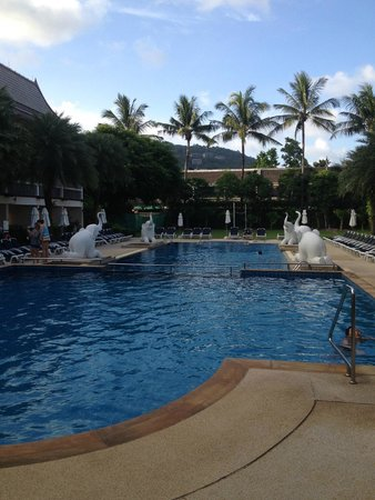 Centara Kata Resort Phuket: One of the Three Beautiful Pools!